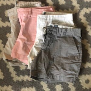 """Lot of Old Navy 5"""" inseam Chino Shorts"""